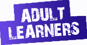 adult learner red box 300x155 Adult Learners and Scholarships