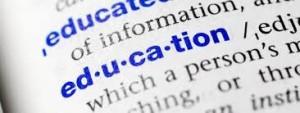 education 300x113 Scholarship Glossary