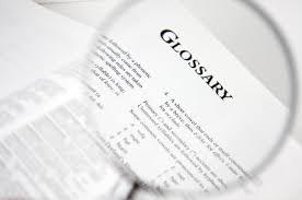 glossary Scholarship Glossary