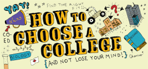 how to choose a college 300x140 Tips on How to Pick a College