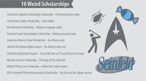 weirdscholarships 10de75a0c02dfb22c23d04c3737201e3 300x167 Different Types of Scholarships