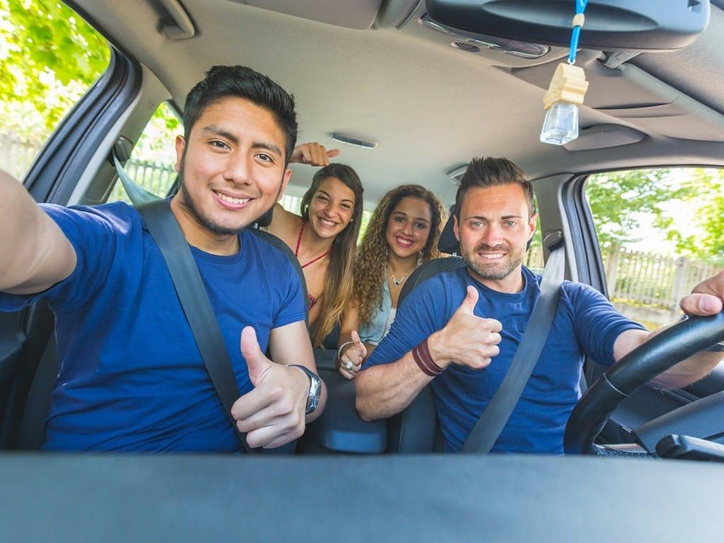 carpooling 1024x768 10 Ways to Save Money During Winter Break