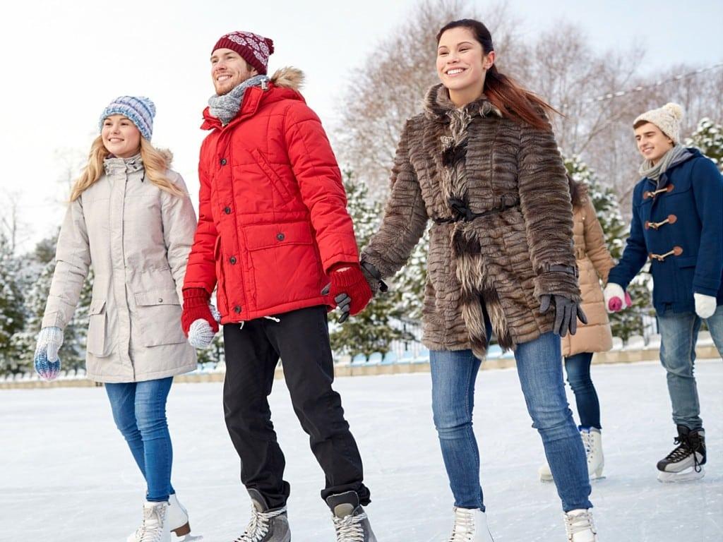 ice skating 1024x768 10 Ways to Save Money During Winter Break